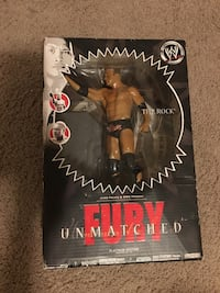 The rock WWW UN MATCHED fury platinum edition No 5
