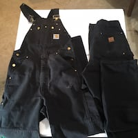 Carhartt Overalls and pants sz 36x32 both double knee and in good condition Salem, 97301