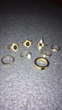 Rings size 7-8 whole sale. Have been worn a few times  Frederick, 21704