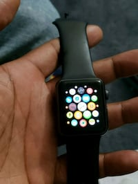 Apple Watch with black sport band and Charger Upper Marlboro, 20772
