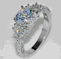New women's sterling silver ring North Bergen, 07047