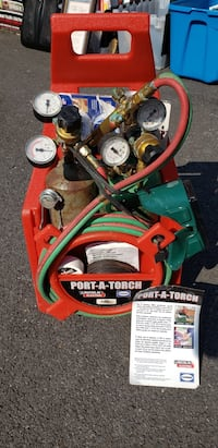 Lincoln Port-A-Torch Gas Cutting and Welding kit Baltimore, 21220