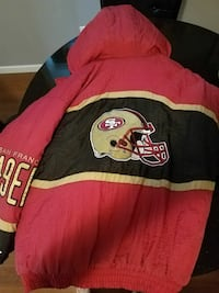 red and black San Francisco 49ers hoodie jacket Fort Mitchell, 41017