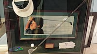 Phil Mickelson signed & framed golf items Toronto