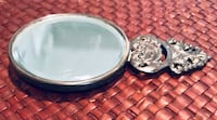 Vintage hand held pocket mirror, sterling! Silver Spring, 20904