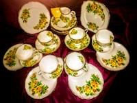 "22 piece""Tea Rose"" Bone China  Surrey, V3S 4T7"