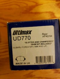 UD770 brake pads new in box