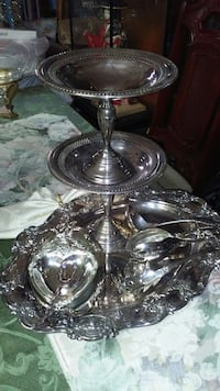 SILVERPLATE..9 PIECES..FOR SALE... 968 mi