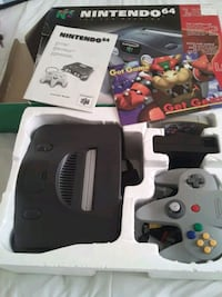 Nintendo 64 mint condition,  hate to let go, but my loss your gain