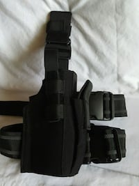 Real police holster.