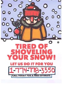 snow removal  Worcester