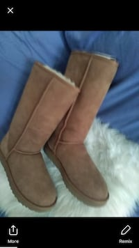 women's brown leather boots London, N5W 4E4