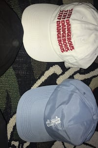 Selling dad hats used 7$ each , price is negotiable