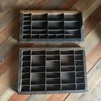 RUSTIC WOODEN BEAN COUNTER TRAYS Vancouver, V5T