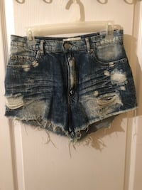 High Waisted Jean shorts Westmount, H3V 1E6