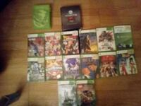 My collect of 15  X BOX VIDEO GAMES AND 5 LOOSE GAMES all used no new  Las Vegas, 89130