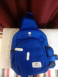 blue and black Adidas backpack Linwood, 21791