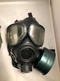 Msa M2 C2 Respirator Gas Face Cover Filter & Mask Ww2 Wwii Bag Fort Washington, 20744