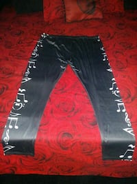 Ladies Music Note????Leggings Never Used Size4XL San Diego, 92114