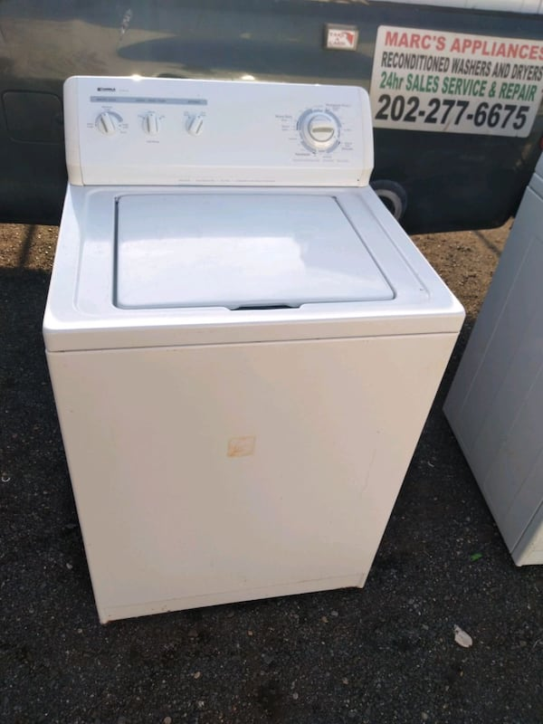 Whirlpool heavy duty washer and dryer set works good 6 month warranty 538adc36-9449-4bfb-abfc-2f82fa46923e