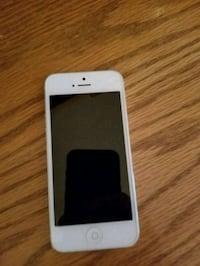 white iPhone 5 with case Grayson, 30017