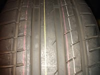 I have one tire continental for sale 235/40/18 for $35 cash + pickup never in the road new 33 km