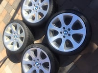 bmw rims like new staggered size 18 Manassas, 20110