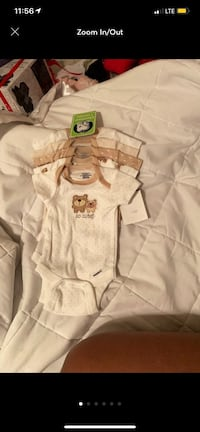 5 piece onesie set for boy Upper Marlboro, 20772