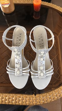 Silver dress sandals Irmo, 29063