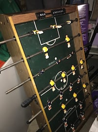 black, green, and red foosball table Columbus, 43229
