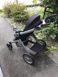 Baby's black and gray stroller 萨里, V3W 0L2