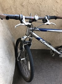 Gray and black hardtail mountain bike Moreno Valley, 92553