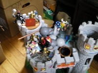 FISHER PRICE CASTLE WITH ALL IT STUFF Derby