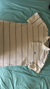 Polo lacoste homme blanc et bleu marine taille 2 stretch fit Claye Souilly