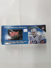 Topss American football card box