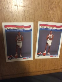two NBA Hoops Scottie Pippen trading cards Deland, 32720
