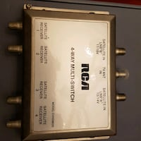 RCA 4 way multi switch for cable Oshawa