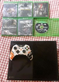 Xbox one with 6 games  Connellsville, 15425