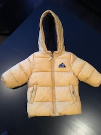 Baby winter down jacket size 9m