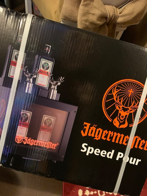 """""""Brand new in sealed box"""" Jagermeister Speed Pour Freezer 5e197961-9a26-4d8d-bd09-04deef57a3a5"""