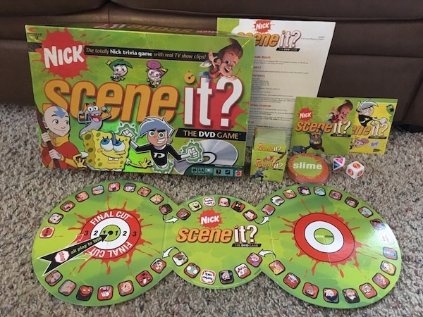Nick Scene It DVD Game