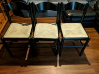 Wooden and wicker chairs Grayslake, 60030