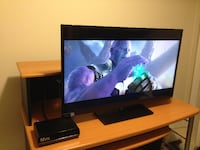 """Toshiba 39"""" LED TV w/ Media Player and TV Mount Vaughan"""