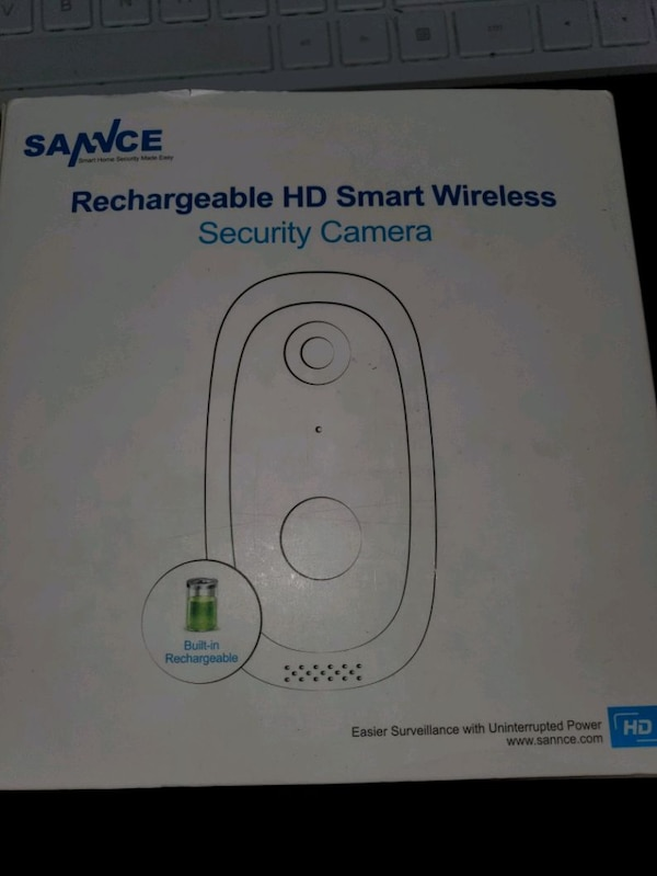 Rechargeable Wi-Fi Security Camera, Motion, 2-Way Audio NEW ½ PRICE fe537d4e-85da-45d9-9ac4-368ab4bea7bc