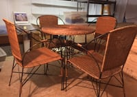 Wicker Table and 4 Chairs Sausalito, 94965