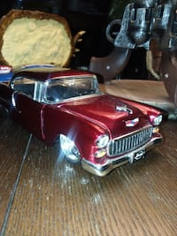 124SCALE jada really cool car 55chevy.