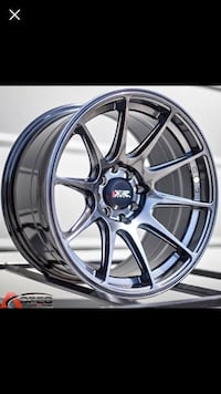18 inch xxr rims with 18 Michelin Donuts   Mississauga