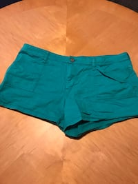 Teal women's shorts - size 19 Andover, 55304