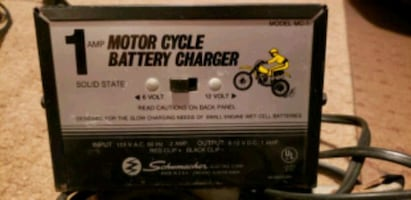 SCHUMACKER 12 and 6 Volt Battery Charger Motorcycle Lawn Mower
