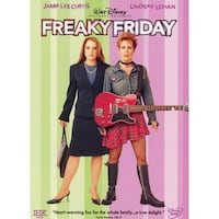 Freaky Friday Dvd (2003)-Jamie Lee Curtis, Lindsay Lohan, Mark Harmon Bethesda, MD, USA